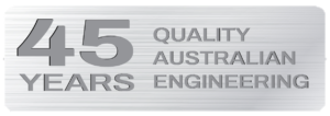45 YEARS QUALITY AUSTRALIAN ENGINEERING