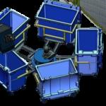 5 MGB Bin Carousel